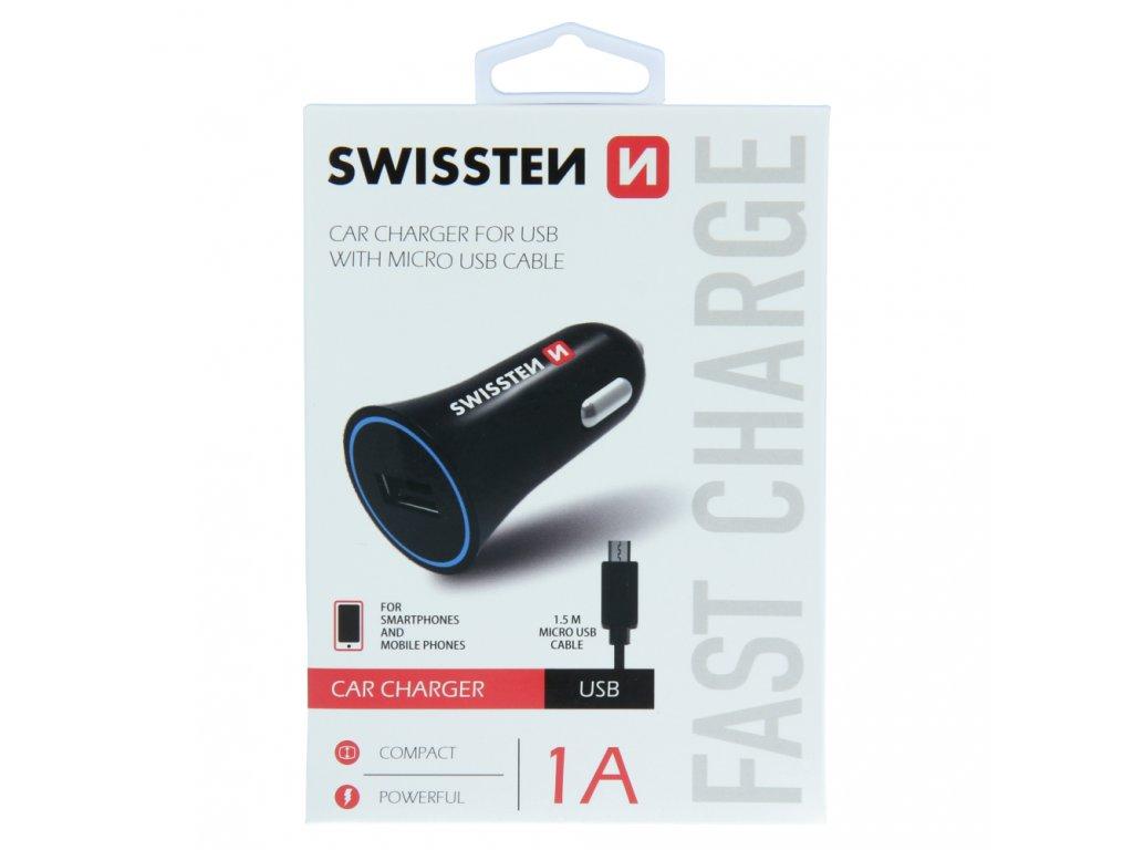 SWISSTEN CL ADAPTÉR NA USB 1A POWER + KABEL MICRO USB