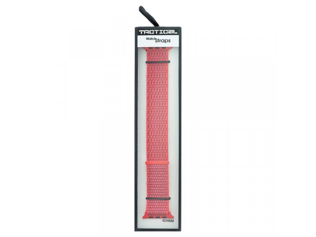 Látkový Řemínek pro iWatch 1/2/3/4/5/6/SE 42/44mm Pink