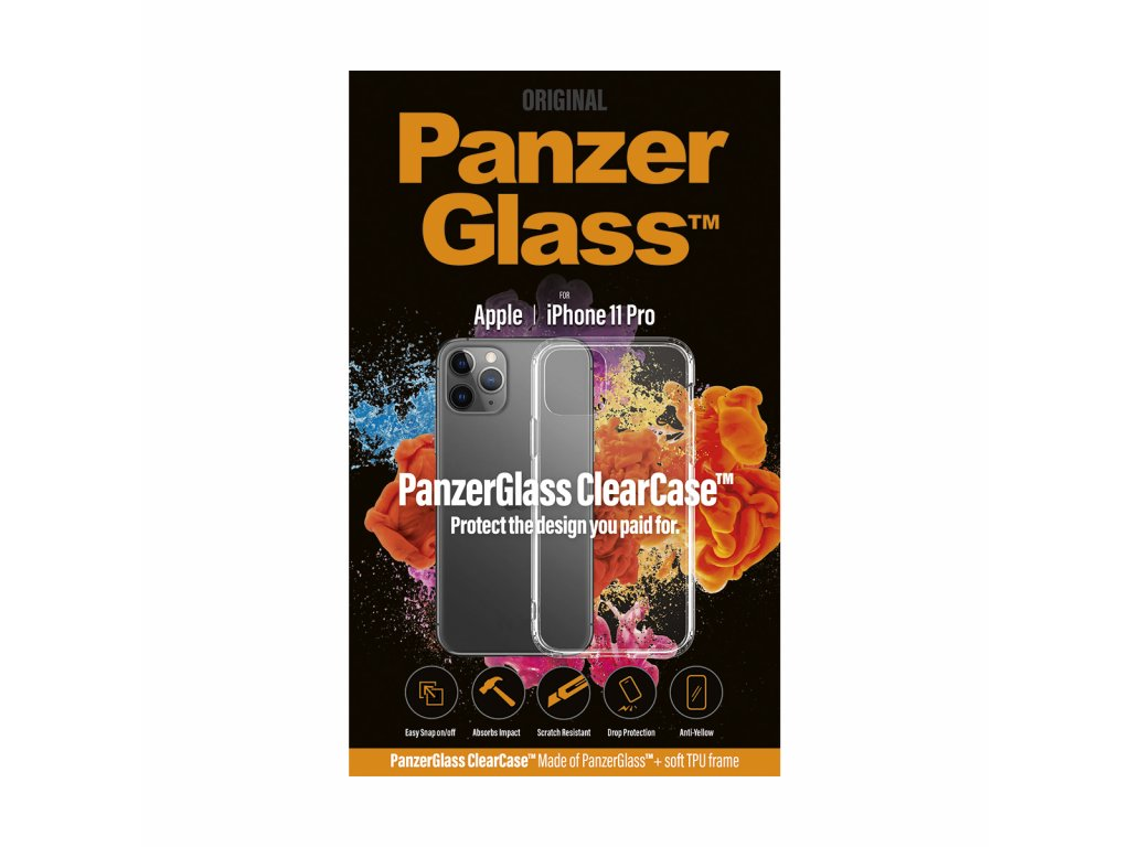 PanzerGlass ClearCase pro Apple iPhone 11 Pro