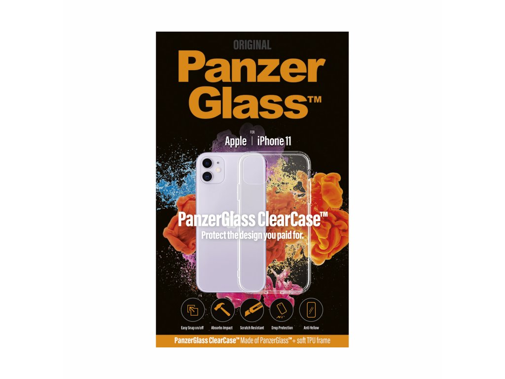 PanzerGlass ClearCase pro Apple iPhone 11