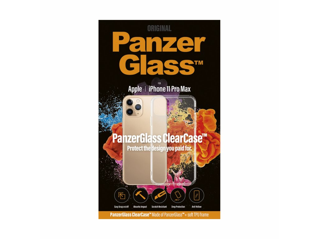 PanzerGlass ClearCase pro Apple iPhone 11 Pro Max