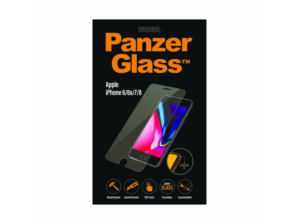 PanzerGlass Standard pro Apple iPhone 6/6s/7/8 čiré