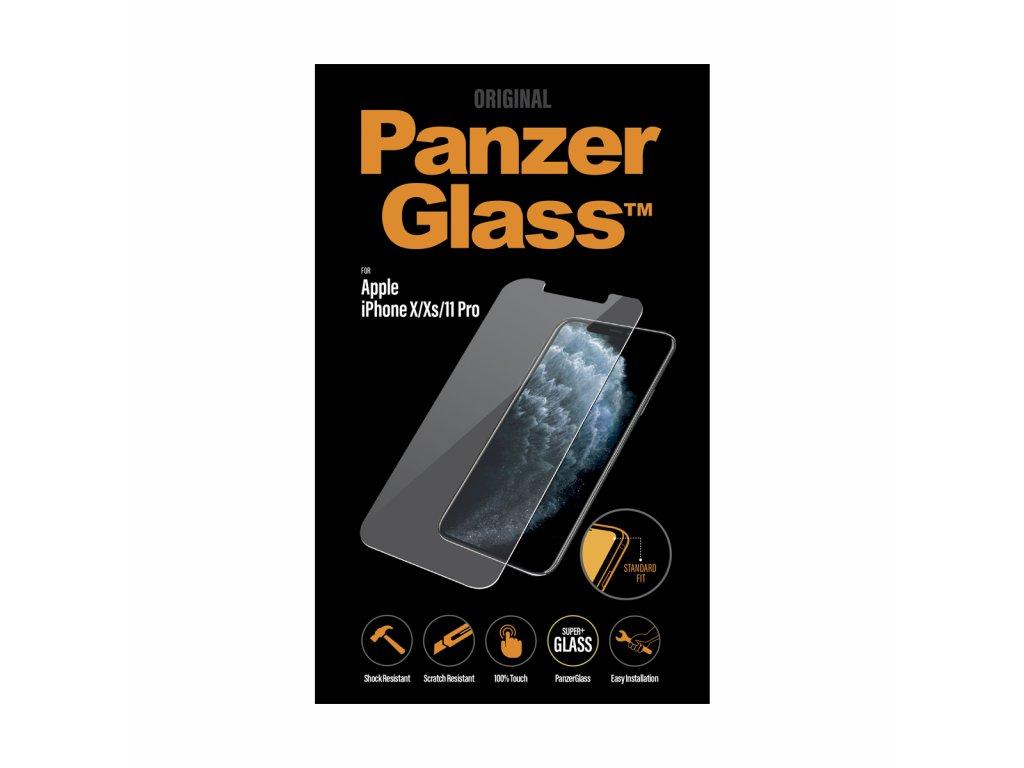 PanzerGlass Standard pro Apple iPhone X/Xs/11 Pro čiré
