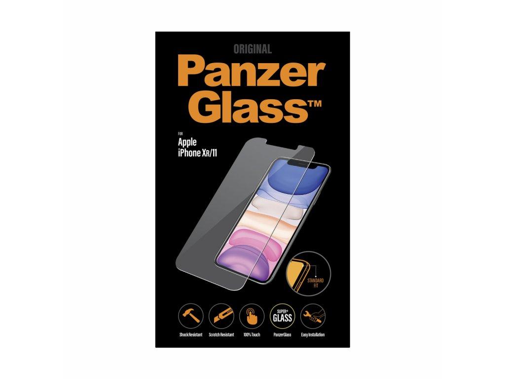 PanzerGlass Standard pro Apple iPhone Xr/11 čiré