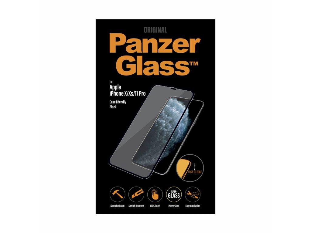 PanzerGlass Edge-to-Edge pro Apple iPhone X/Xs/11 Pro černé