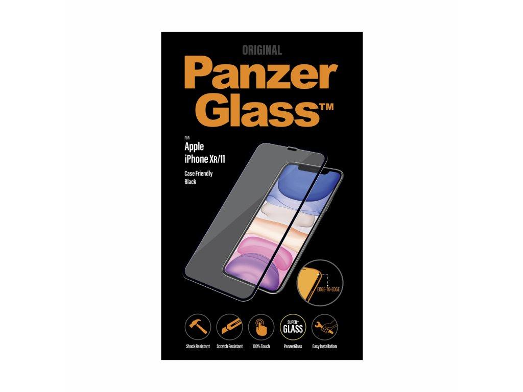 PanzerGlass Edge-to-Edge pro Apple iPhone Xr/11 černé