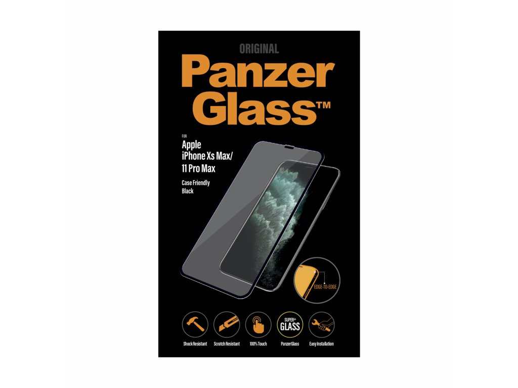 PanzerGlass Edge-to-Edge pro Apple iPhone Xs Max/11 Pro Max černé