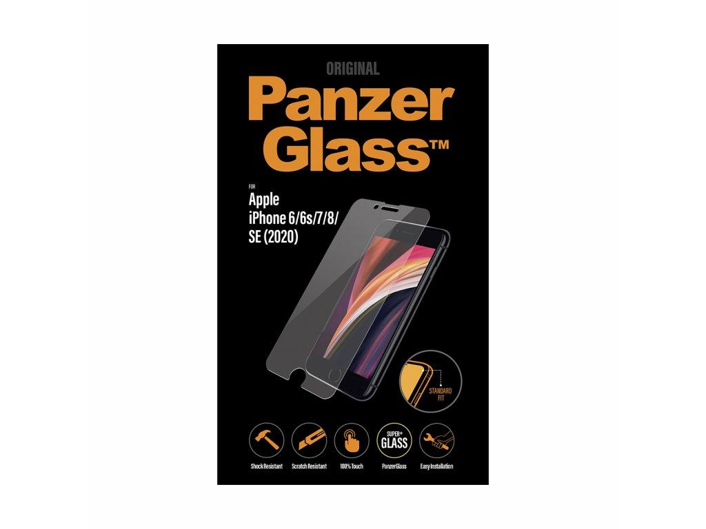 PanzerGlass Standard pro Apple iPhone 6/6s/7/8/SE 2020 čiré