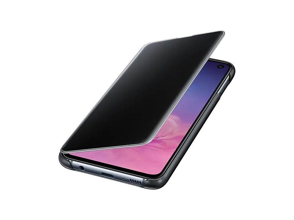 Samsung Clear View Cover Black pro G970 Galaxy S10e