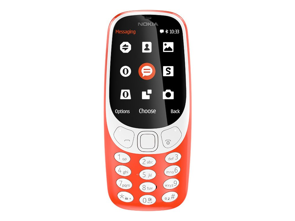 Nokia 3310 DS gsm tel. Red
