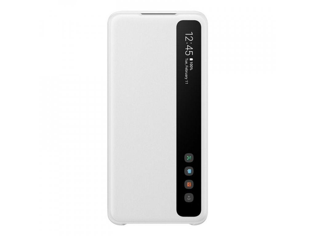Samsung Clear S-View Pouzdro pro Galaxy S20 White