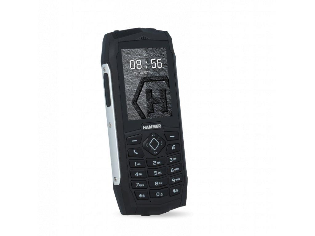 Telefon myPhone Hammer 3 stříbrný