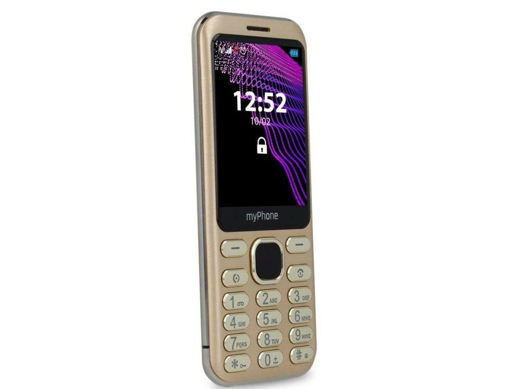Telefon myPhone Maestro zlatý
