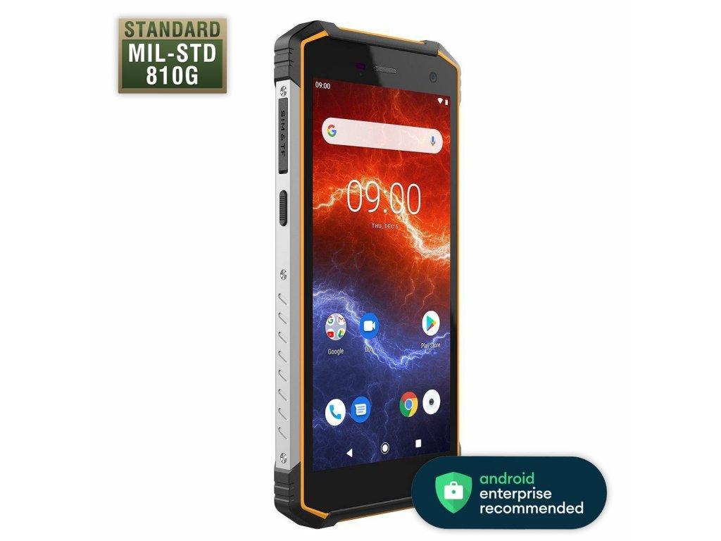 Telefon myPhone Hammer Energy 2 LTE oranžový