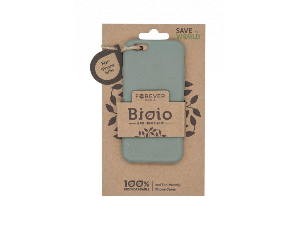 Zadní kryt Forever Bioio pro iPhone 6/6s zelený