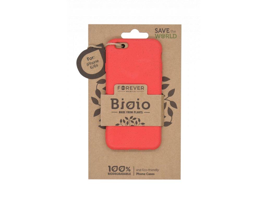 Zadní kryt Forever Bioio pro iPhone 6/6s červený