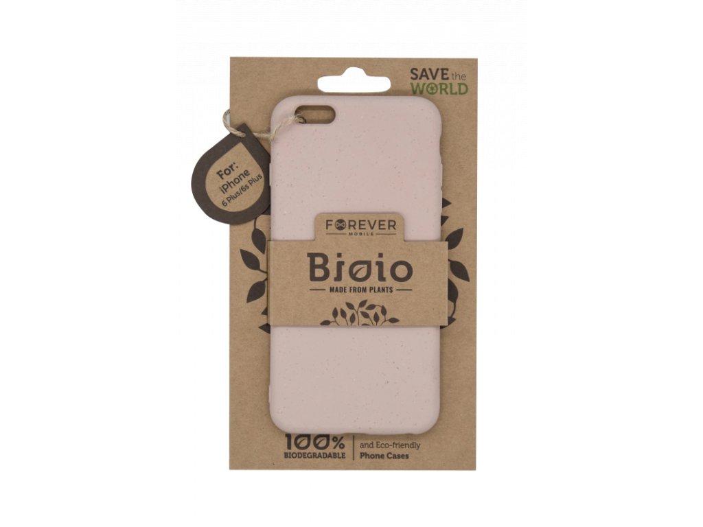 Zadní kryt Forever Bioio pro iPhone 6 Plus růžový
