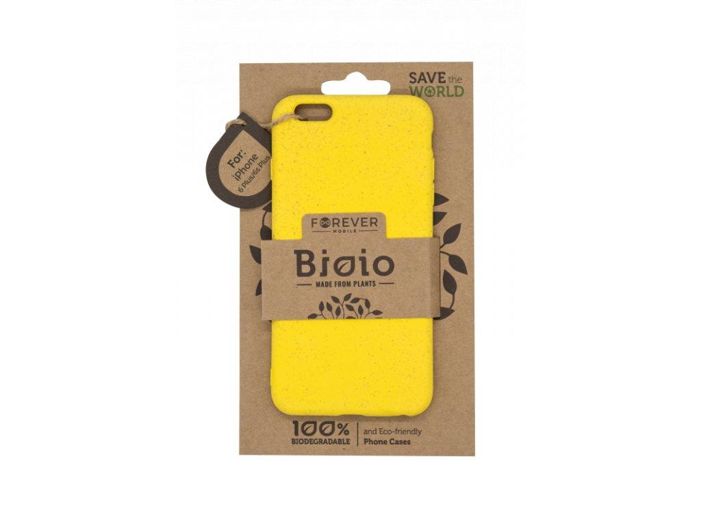 Zadní kryt Forever Bioio pro iPhone 6 Plus žlutý