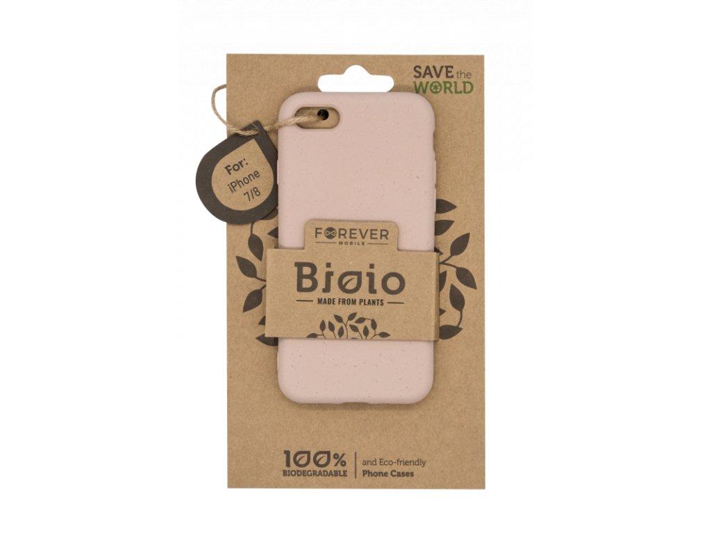 Zadní kryt Forever Bioio pro iPhone 7/8/SE (2020) růžový