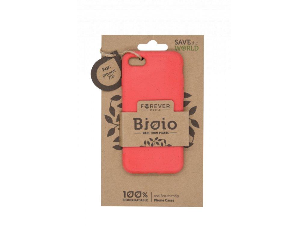 Zadní kryt Forever Bioio pro iPhone 7/8/SE (2020) červený