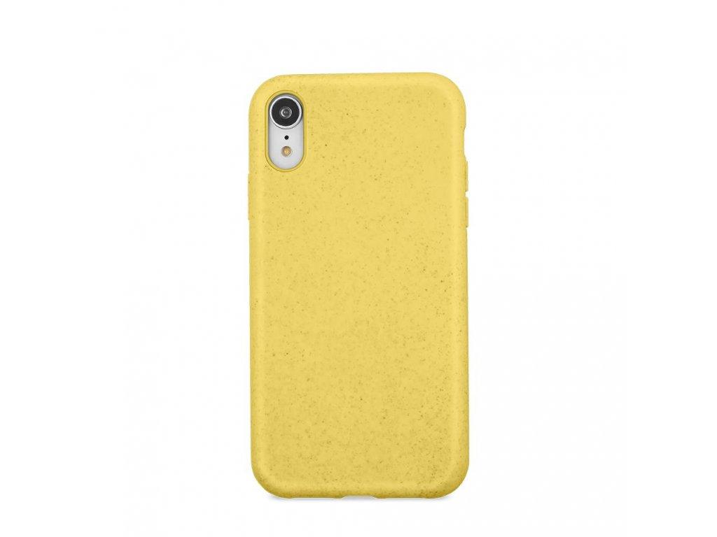 Zadní kryt Forever Bioio pro iPhone 7/8/SE (2020) žlutý