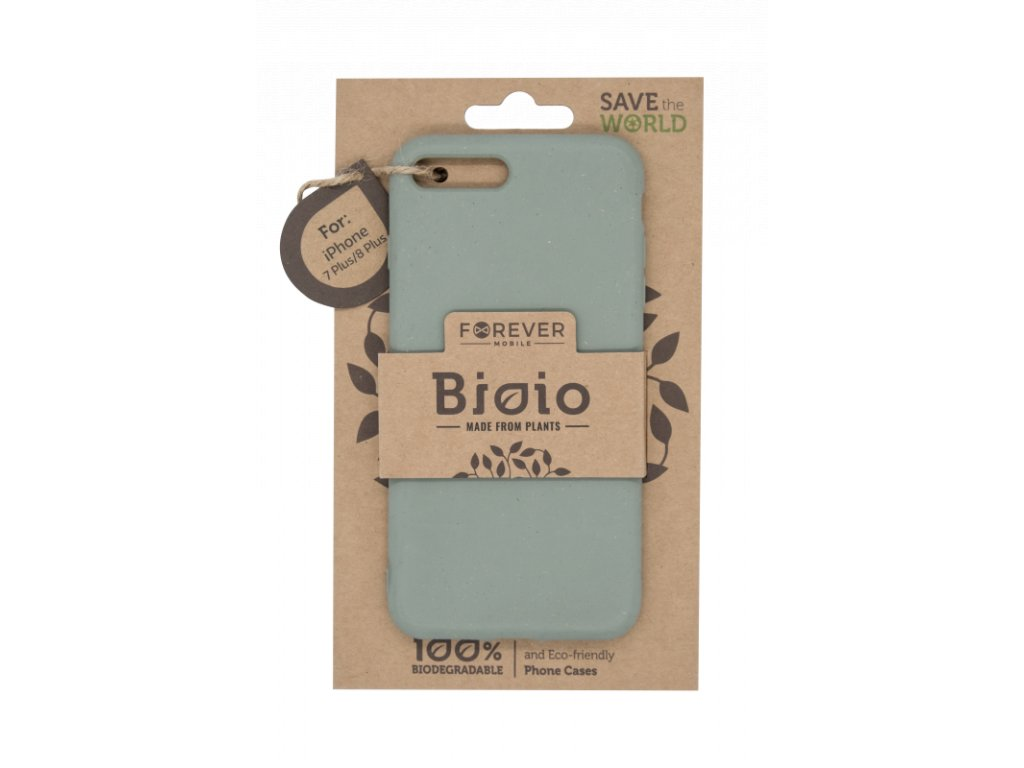 Zadní kryt Forever Bioio pro iPhone 7 Plus/ 8 Plus zelený