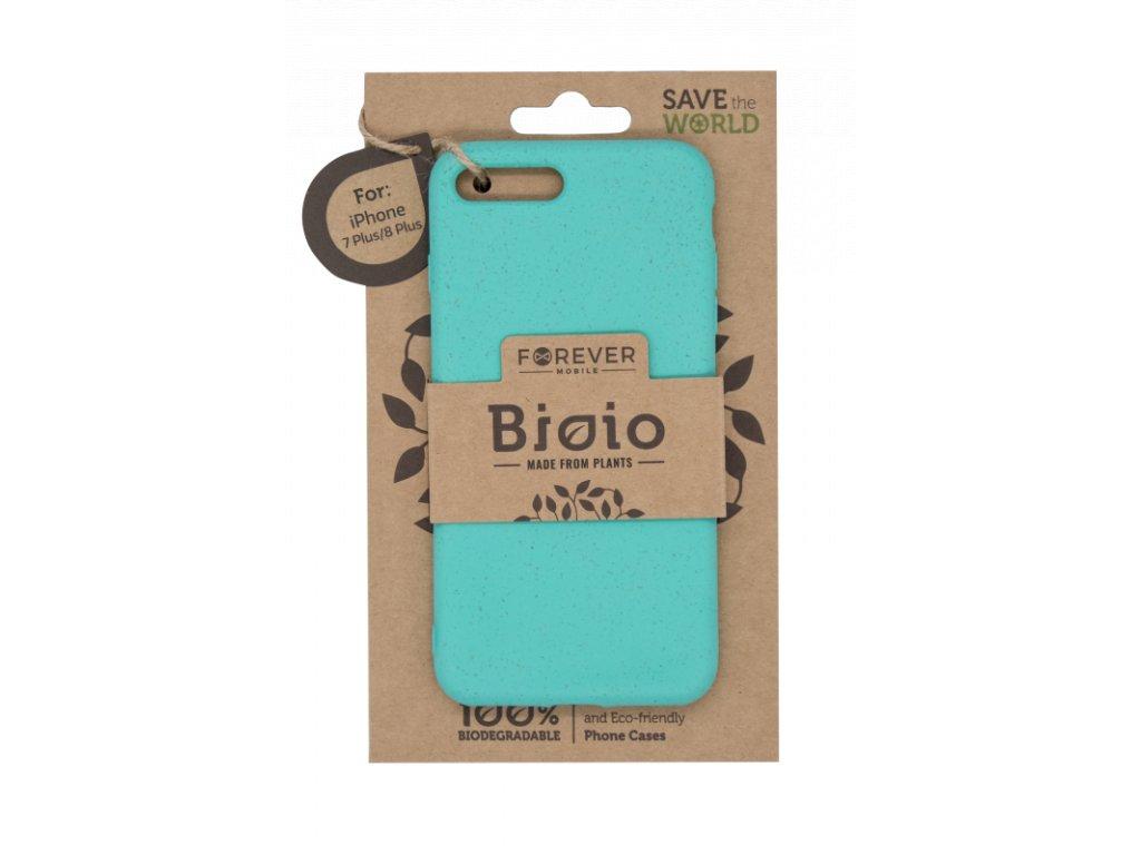 Zadní kryt Forever Bioio pro iPhone 7 Plus/ 8 Plus mátový