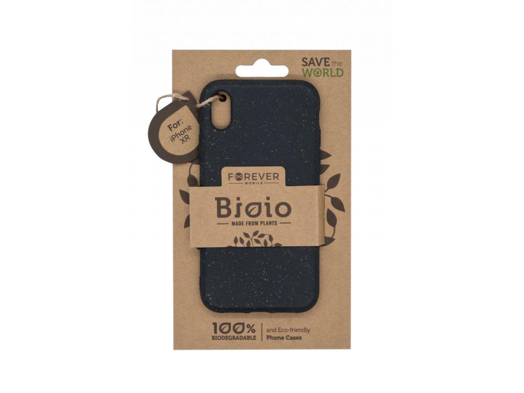 Zadní kryt Forever Bioio pro iPhone XR černý