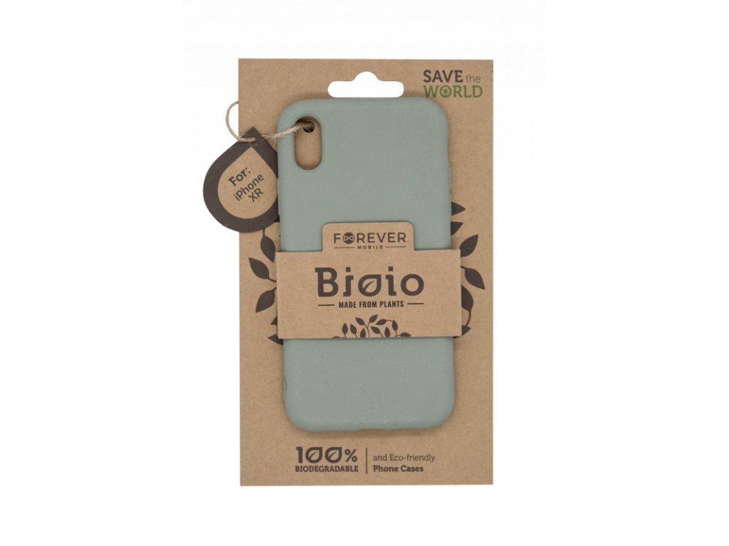 Zadní kryt Forever Bioio pro iPhone XR zelený