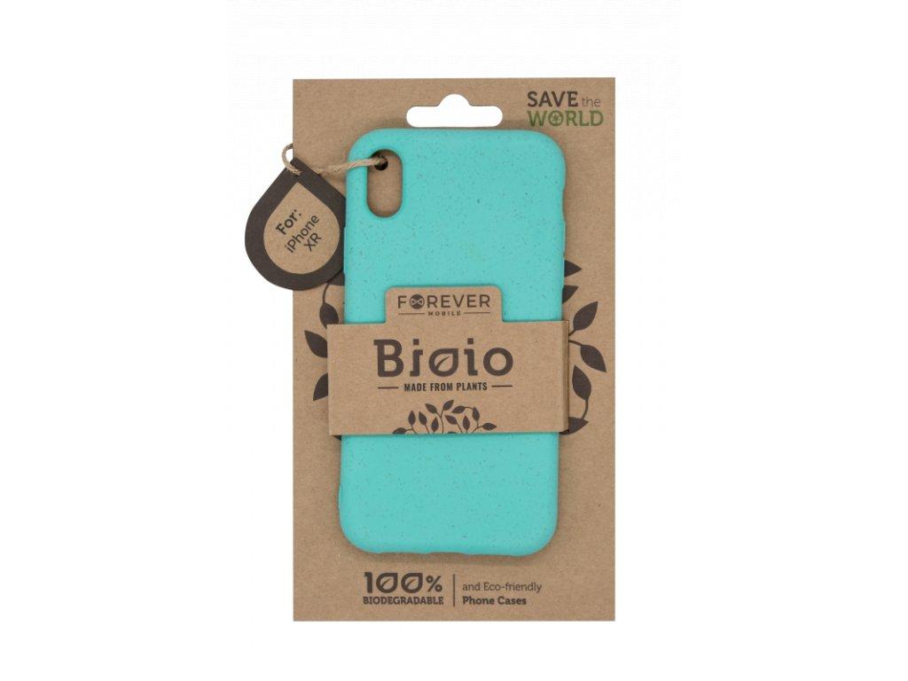 Zadní kryt Forever Bioio pro iPhone XR mátový