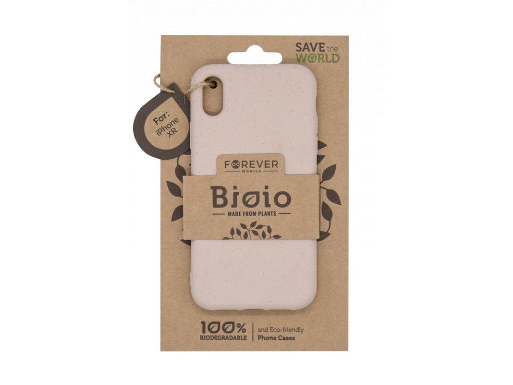 Zadní kryt Forever Bioio pro iPhone XR růžový