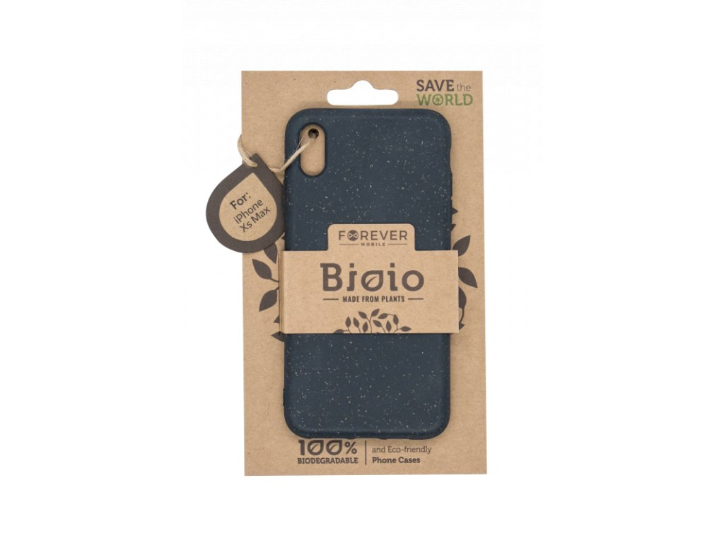 Zadní kryt Forever Bioio pro iPhone XS Max černý