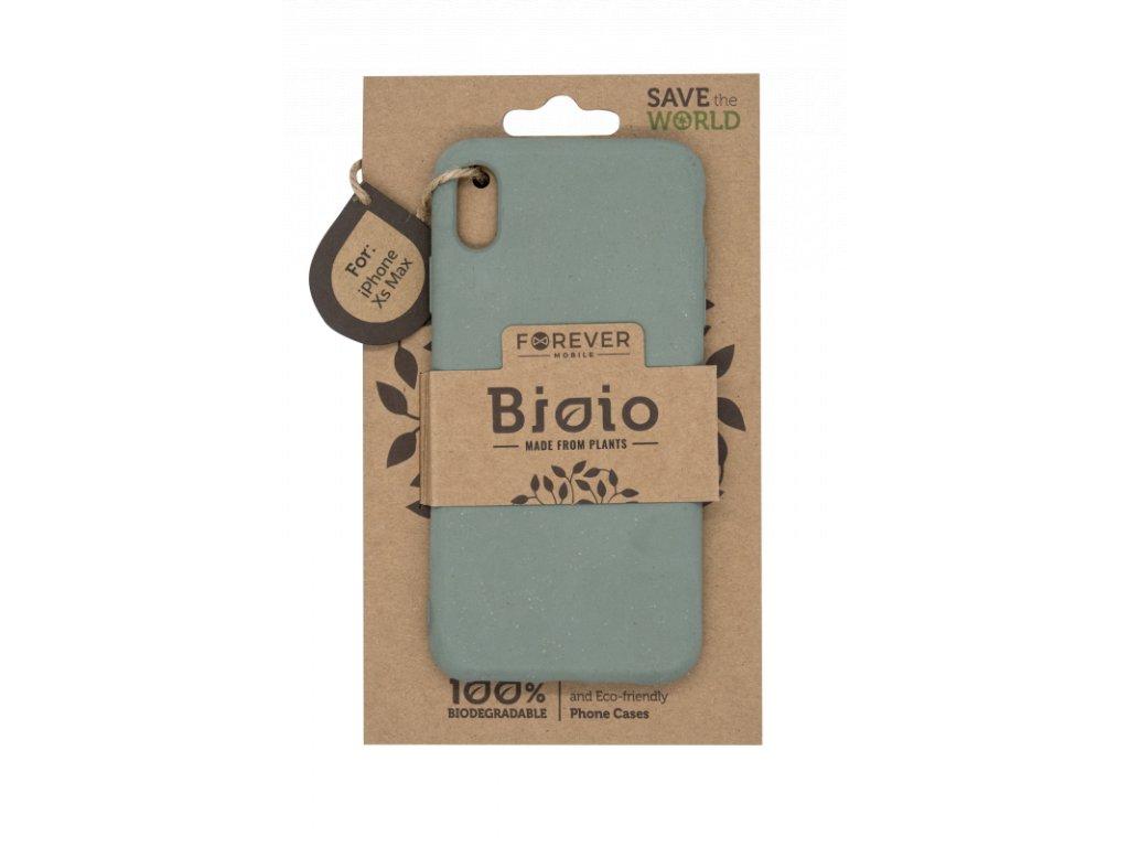 Zadní kryt Forever Bioio pro iPhone XS Max zelený