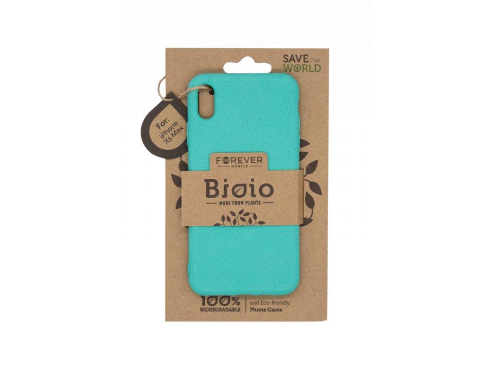 Zadní kryt Forever Bioio pro iPhone XS Max mátový