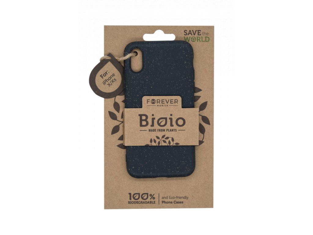 Zadní kryt Forever Bioio pro iPhone X/XS černý