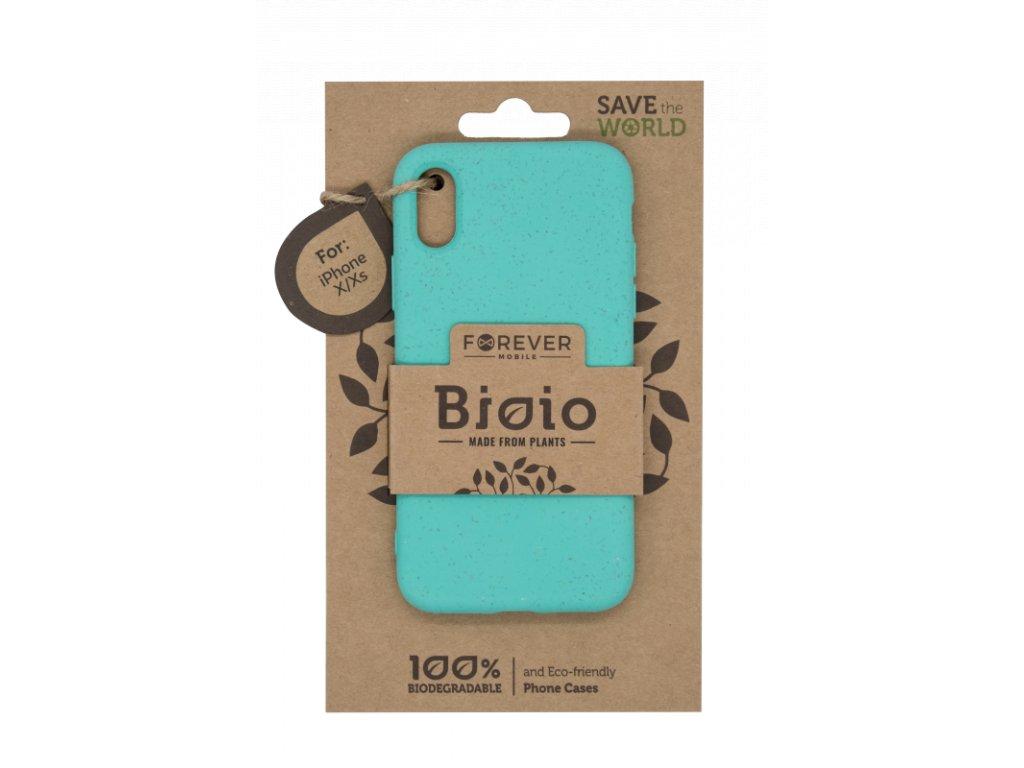 Zadní kryt Forever Bioio pro iPhone X/XS mátový
