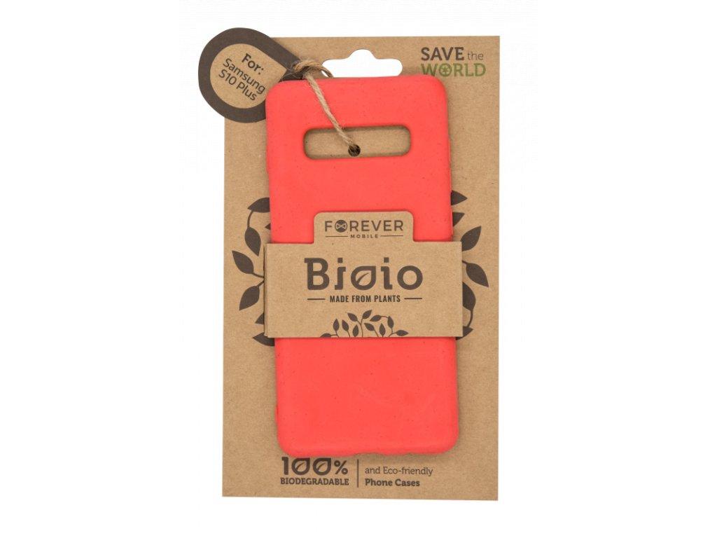 Zadní kryt Forever Bioio pro Samsung S10 Plus červený