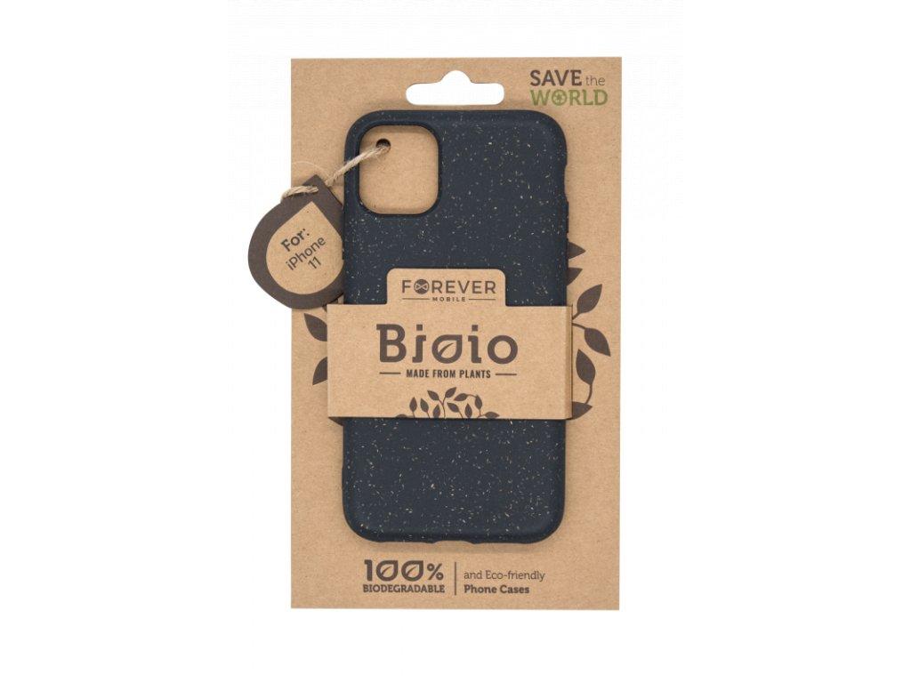 Zadní kryt Forever Bioio pro iPhone 11 černý