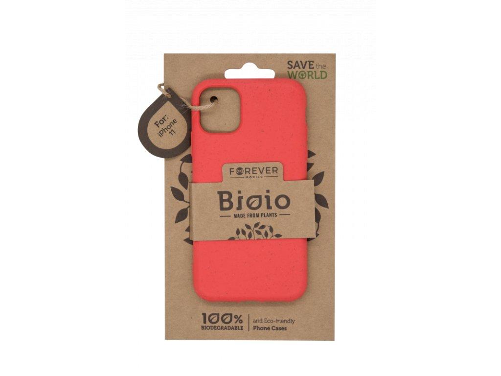 Zadní kryt Forever Bioio pro iPhone 11 červený