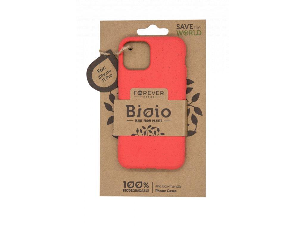Zadní kryt Forever Bioio pro iPhone 11 Pro červený