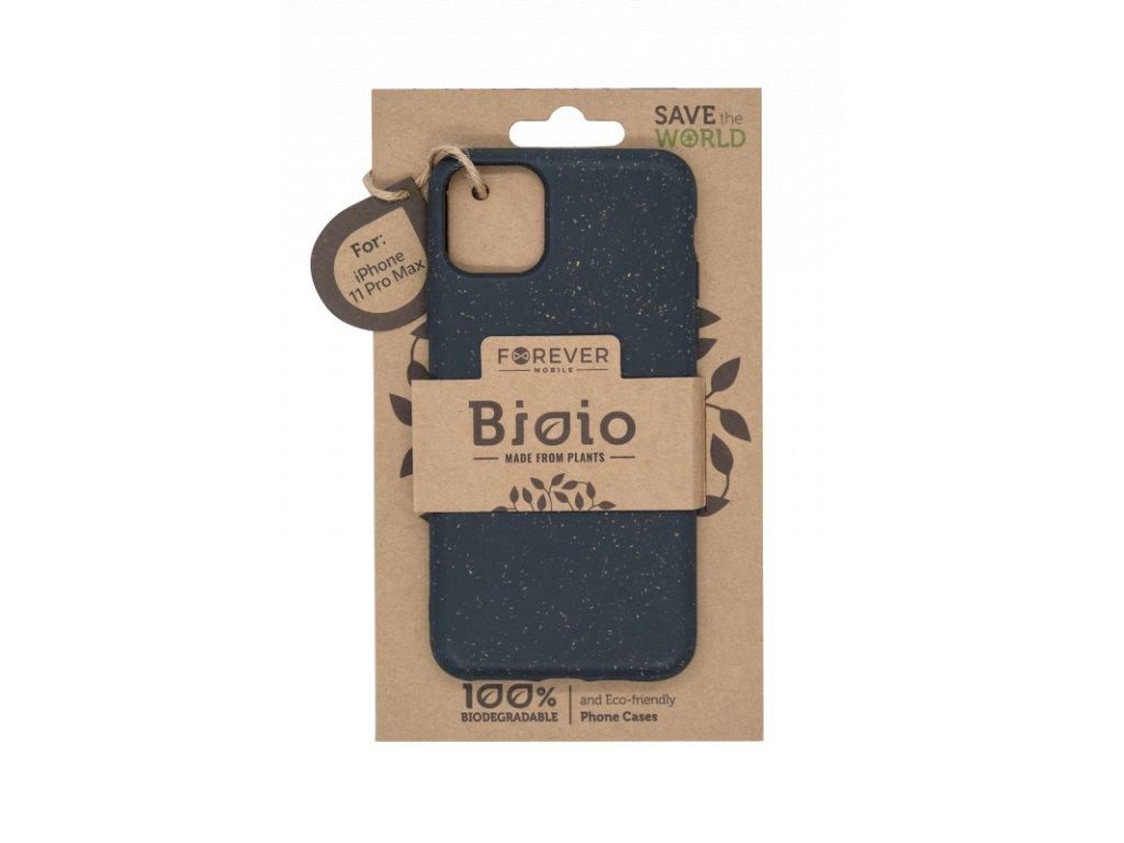 Zadní kryt Forever Bioio pro iPhone 11 Pro Max černý