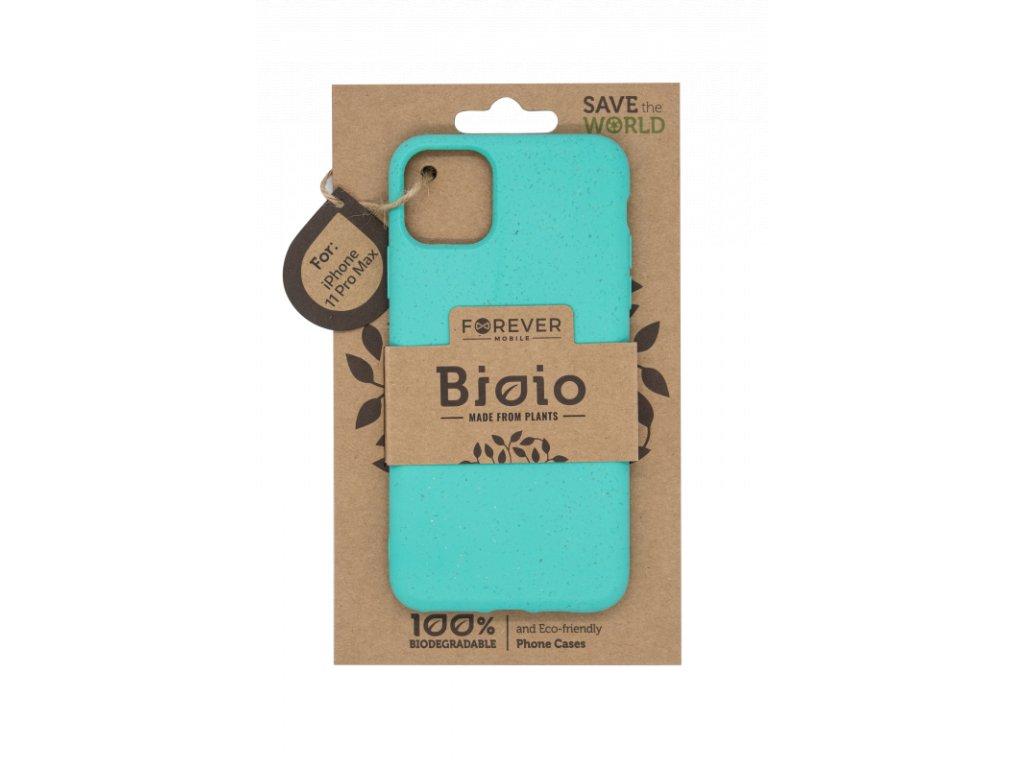 Zadní kryt Forever Bioio pro iPhone 11 Pro Max mátový