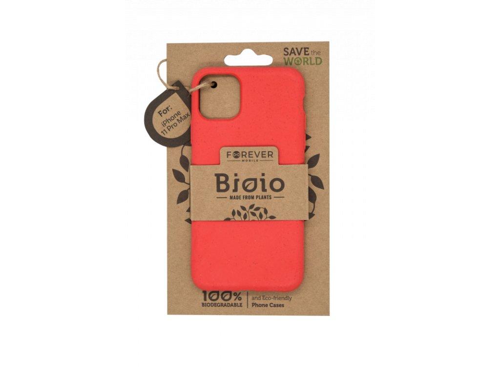 Zadní kryt Forever Bioio pro iPhone 11 Pro Max červený