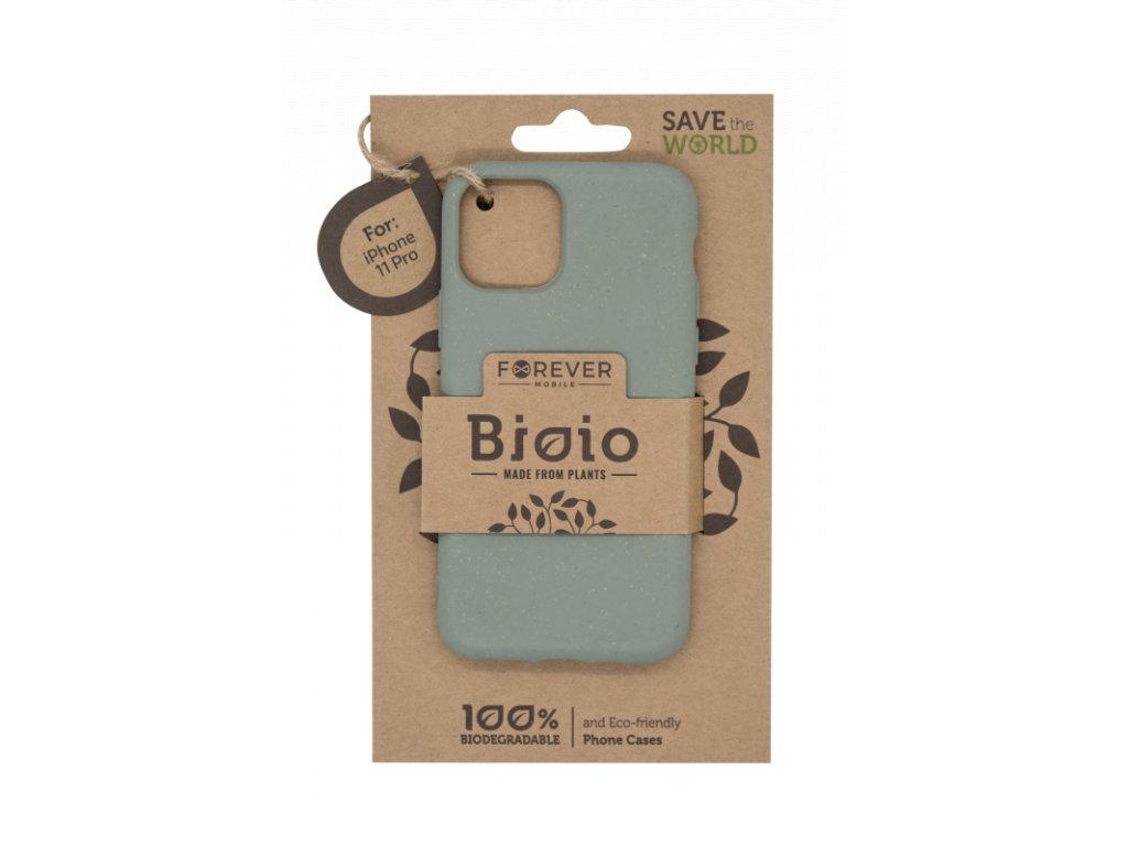 Zadní kryt Forever Bioio pro iPhone 11 Pro zelený