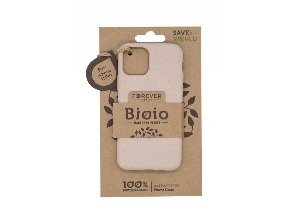 Zadní kryt Forever Bioio pro iPhone 11 Pro růžový