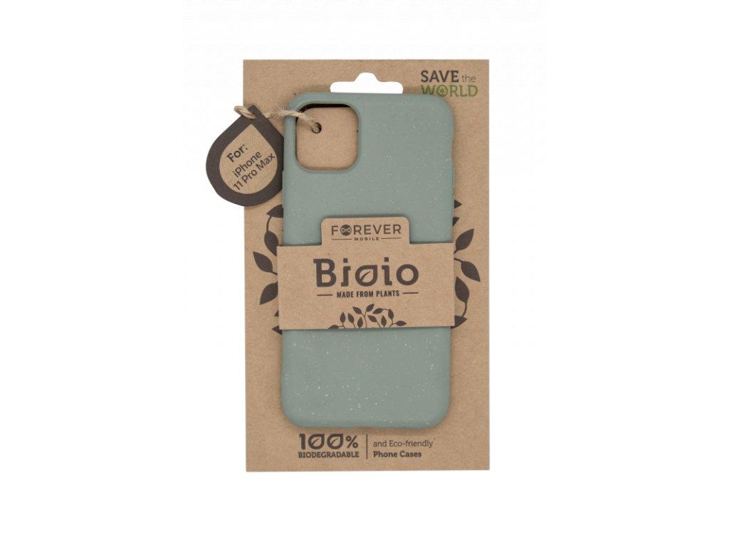 Zadní kryt Forever Bioio pro iPhone 11 Pro Max zelený