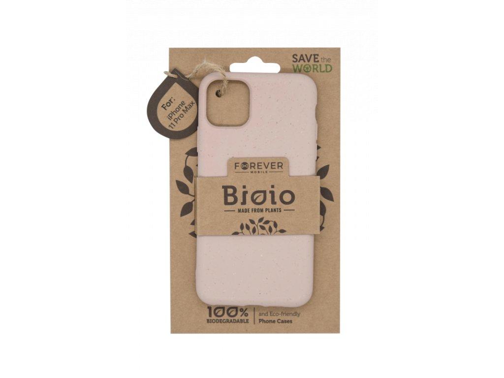 Zadní kryt Forever Bioio pro iPhone 11 Pro Max růžový