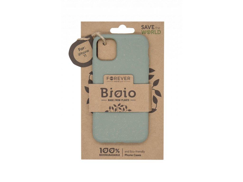 Zadní kryt Forever Bioio pro iPhone 11 zelený