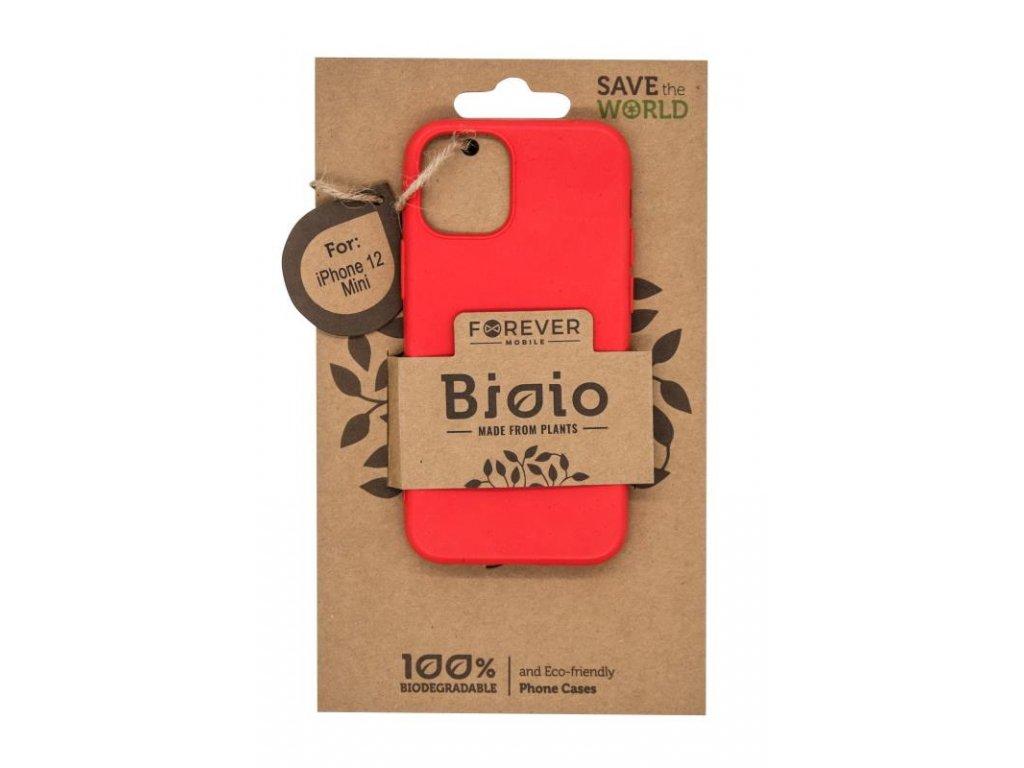 """Zadní kryt Forever Bioio pro Apple iPhone 12 mini (5,4"""") červený"""