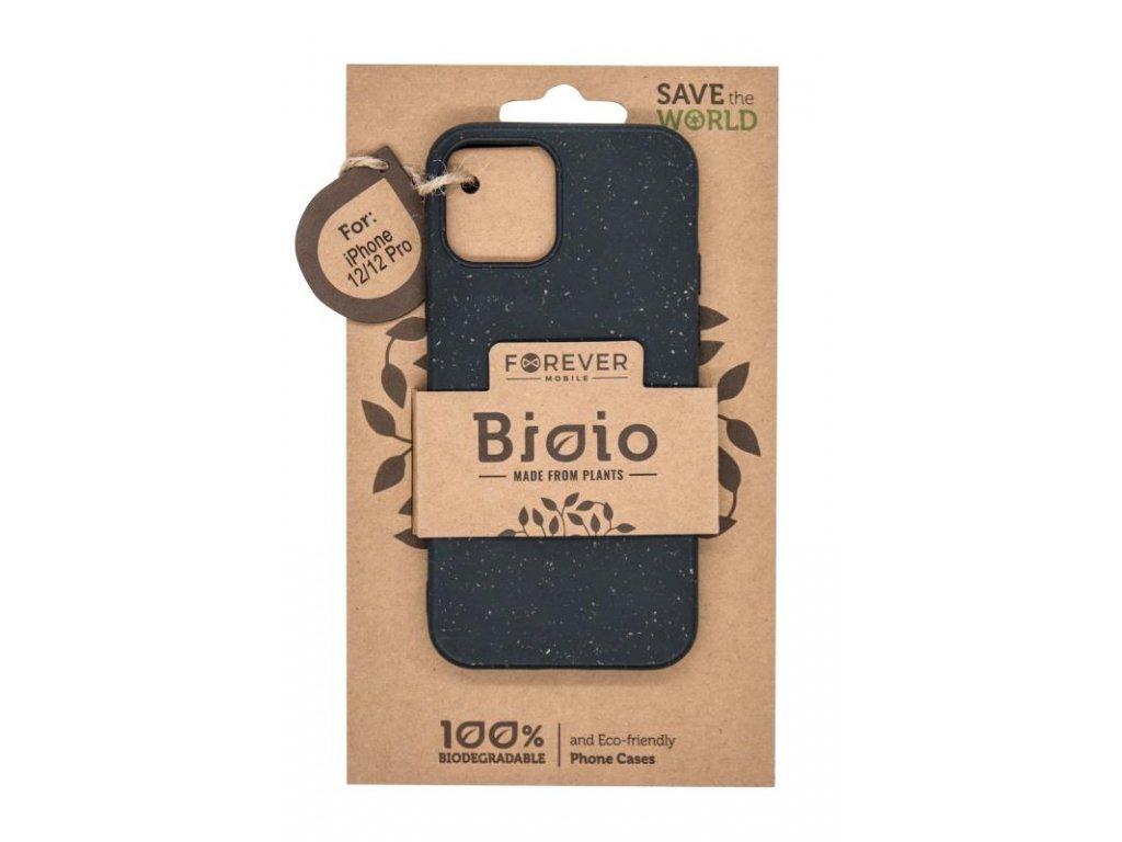 """Zadní kryt Forever Bioio pro Apple iPhone 12/iPhone 12 Pro (6.1"""") černý"""